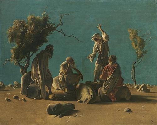 1947年(阿尼戈尼)隐士的聚会----沙漠中的安纳科莱蒂80x100 .jpg